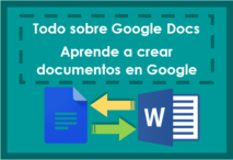 todo sobre google docs